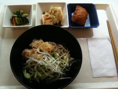 冷やし竹輪天ぷらそは@社食