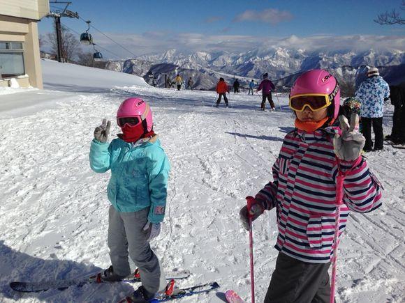 ランチ@かぐらみつまたスキー場