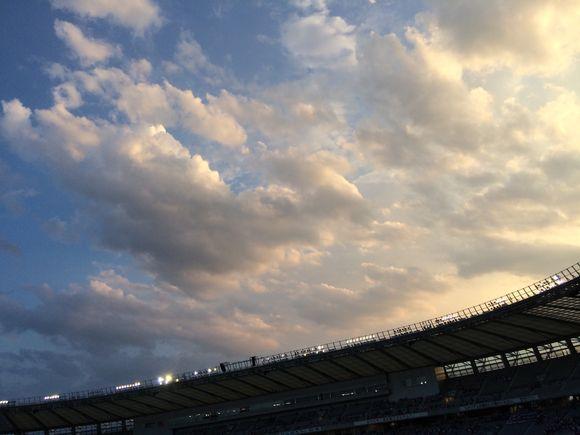 サッカー観戦〜九州ラーメン桜島